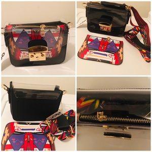 New Mini TransparentPlastic Crossbody Shoulder Bag